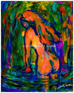 Blue Ridge Parkway Artist is Staring at wet paint and Pigs Flying by my Window...