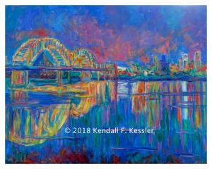 Blue Ridge Parkway Artist is Pleased to get Praise from Patron and I got Something...
