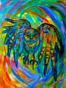 Blue Ridge Parkway Artist is Promoting Book and Fun with Towhees...