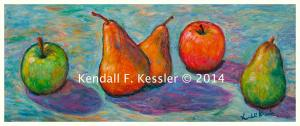Blue Ridge Parkway Artist is Pleased with New Blue Ridge Painting and Please Vote for my Work