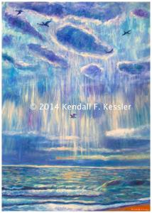 Blue Ridge Parkway Artist is Looking into Buying Caramel Topping...
