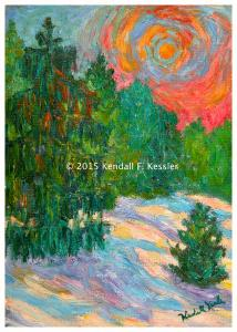 Blue Ridge Parkway Artist is Stuck inside and Why do that...