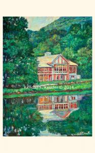 Blue Ridge Parkway Artist is Racing to get everything done...
