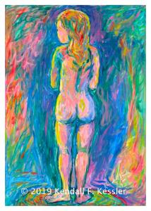 Blue Ridge Parkway Artist is Feeling Blue