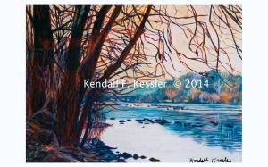 Blue Ridge Parkway Artist Reflects on Favorite Author and Do not want a Chrome Dome...