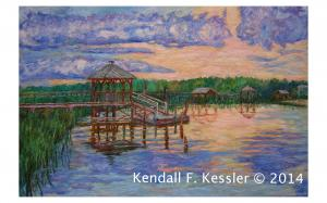Blue Ridge Parkway Artist is Pleased to Sell another print of Marsh View at Pawleys Island and Where did I put the Cheese...