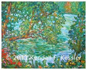 Blue Ridge Parkway Artist is Looking out the Window