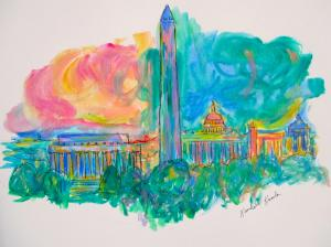 Blue Ridge Parkway Artist is Pleased to sell another Skyline Beauty print and Song of my People...