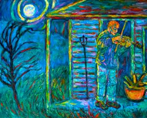 Blue Ridge Parkway Artist is Looking Forward to Book Launch and A Convert...
