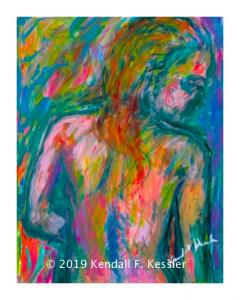 Blue Ridge Parkway Artist is Back to Figure Paintings and Right out the Door...