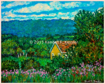 Blue Ridge Parkway Artist is Happy Again and Near Impossible...