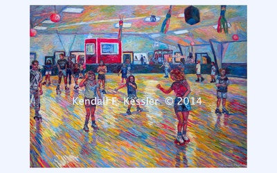 Blue Ridge Parkway Artist is Pleased to sell a print of Dominion Skating Rink
