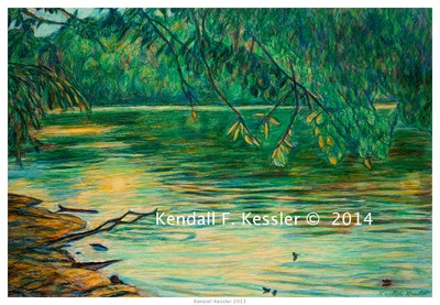 Blue Ridge Parkway Artist is Pleased with New Way to Save Paint