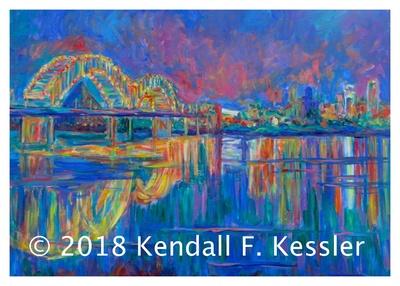 Blue Ridge Parkway Artist is Working it all Out...